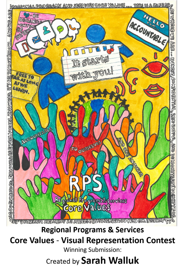 Regional Programs & Services Core Values Poster