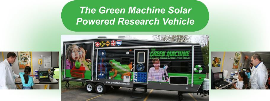 The Green Machine Solar Powered Research Vehicle