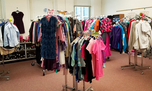Shelley's Closet Clothing Bank