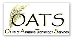 OATS: Office of Assistive Technology Services