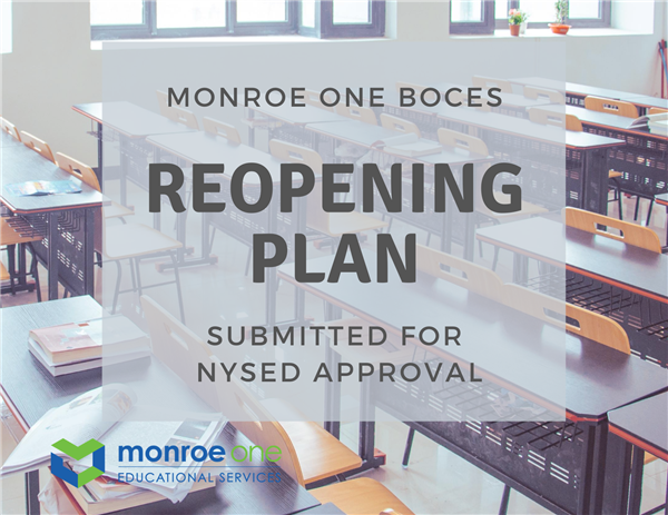 Monroe One submits reopening plans, awaiting NYSED approval